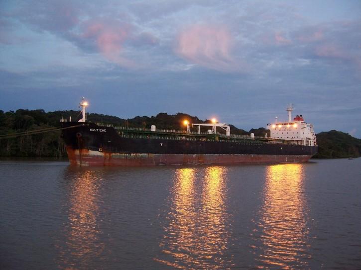 Panama Canal Sunise by Nat Edwards
