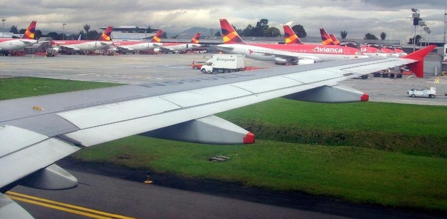 avianca aviones