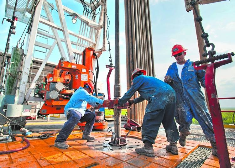 campo de petroleo